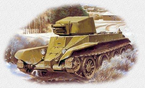 Советская самоходная артиллерийская установка на базе танка т-26 с 76-мм орудием