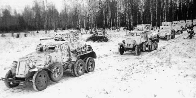 Западный фронт 18 я танковая бригада