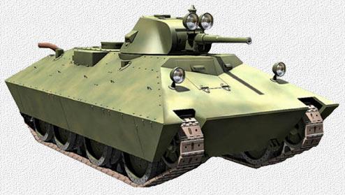 Модель БТ-СВ-2.