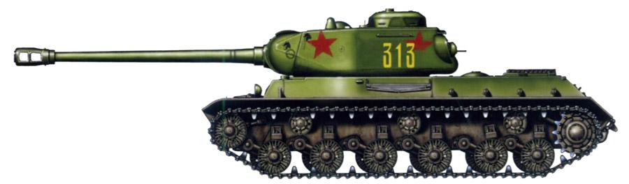 Танка ис 2 компоновка танка ис