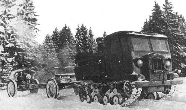 Image result for Russian Artillery transport tractor