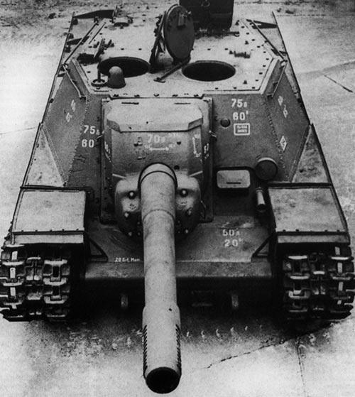 СУ-152 захваченная немцами