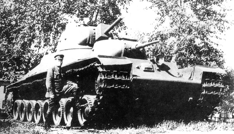 Тяжелый танк Т-