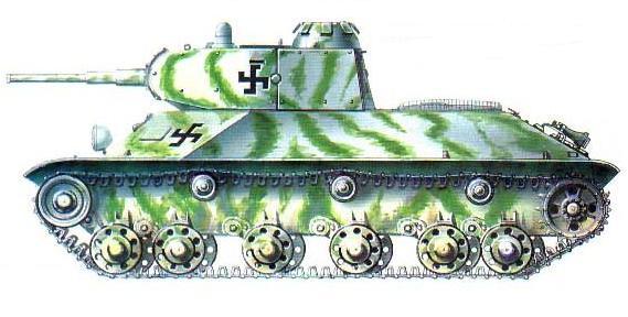 Чертежи лёгкого танка Т-50:
