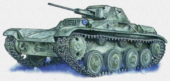 Легкий танк Т- 60